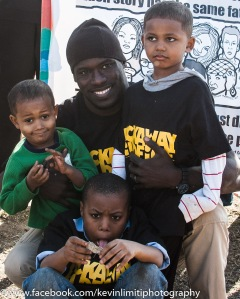 SUFFOLK COUNTY, NY--April 12th, 2015--This man's father was killed by police in Jamaica. These are his sons.
